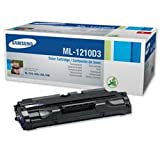 Samsung Laser Toner Cartridge Page Life 2500pp Black [for ML1210M 20 50] Ref ML1210D3-ELS