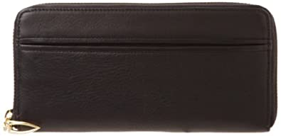 Tusk Donington Gold Zip Clutch Wallet CD-301 Wallet,Black,One Size