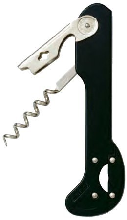 "Black Boomerang Corkscrew with No Blade"" Foil Cutter"""