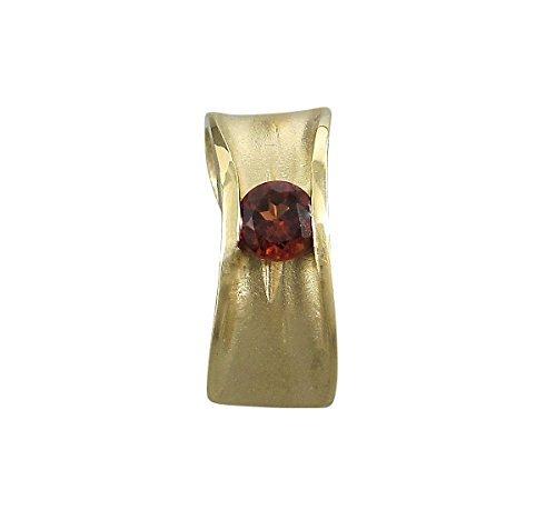 Schmuck-Michel Damen Anhänger Gold 585 Granat 0,35 Karat (8240) – SALE -20% günstig
