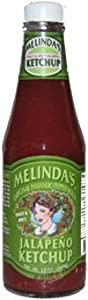 Hot Sauce Depot 60087010 Melindas Jalapeno Ketchup 13oz - Pack Of 3 from Hot Sauce Depot