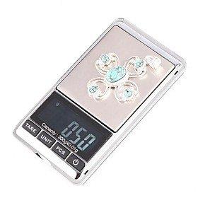 SODIAL(R) 0.01g-300g Mini Balance electronique avec LCD numerique Argente