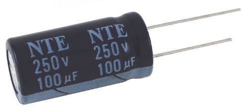 Capacitor High Temperature Aluminum Electrolytic 33Uf 450V 20% 105 Degree C Radial Lead