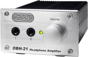 Creek Audio Limited OBH-21 Silver Headphone Amplifier