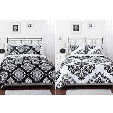 White Damask Bedding 4204 back