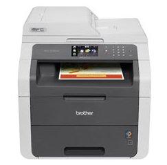 Brother Mfc-9130Cw Led Multifunction Printer - Color - Plain Paper Print - Desktop - Copier/Fax/Printer/Scanner - 19 Ppm Mono/19 Ppm Color Print - 600 X 2400 Dpi Print - 19 Cpm Mono/19 Cpm Color Copy - Touchscreen Lcd - 1200 Dpi Optical Scan - 251 Sheets