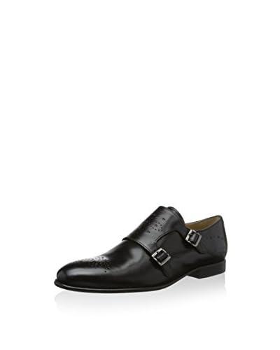 Melvin & Hamilton Zapatos Monkstrap Sally 39 Negro