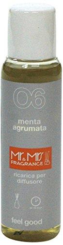 Mr&Mrs easy fragrance 006 Cuba Menta agtumata 詰め替えボトル100ml