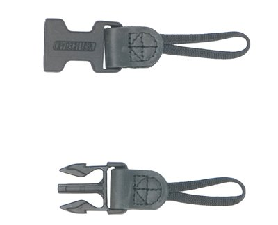 Op/Tech 1301422 Usa Uni-Loop Xl System Connectors (Black)