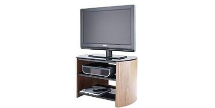 Alphason Finewoods 750 Chêne clair Meuble TV