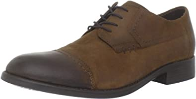 Clarks Men's Clarks Wallace 4 Eye Oxford,Tan,8.5 M US