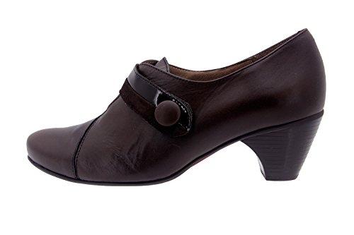 Scarpe donna comfort pelle Piesanto 3406 casual comfort larghezza speciale