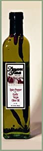 Spicy Pepper Garlic Pure Virgin Olive Oil 165 Oz12 by Classic Culinary Products