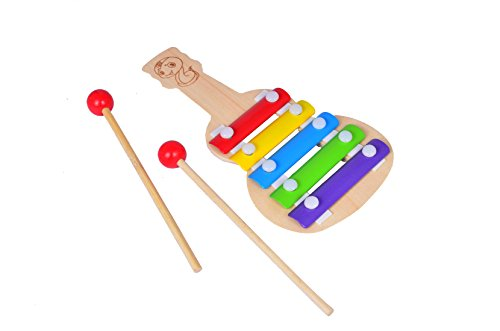 Dcs Guitar Wooden Xylophone For Kids Musical Toy