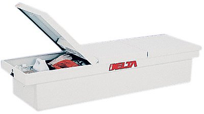 Delta 901000 White Steel Dual-Lid Full-Size Crossover Truck Box