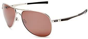 (酷)Oakley Plaintiff Aviator Polarized 飞行员偏振太阳镜$148.89,黑,