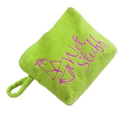 Three Cheers for Girls Lime Wet Stuff Waterproof Pool Bag