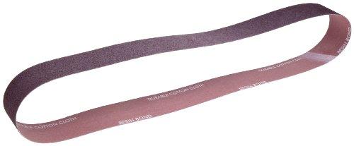 Norton Metalite R228 Benchstand Abrasive Belt, Cotton Backing, Aluminum Oxide, 4