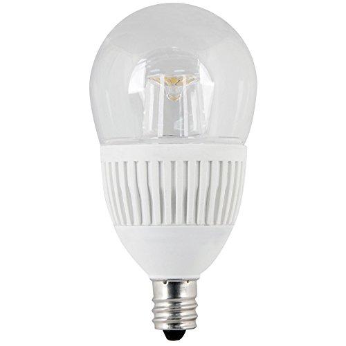Utilitech 4.8-Watt (40W Equivalent) Candelabra Base (E-12) Warm White Dimmable Decorative Led Light Bulb