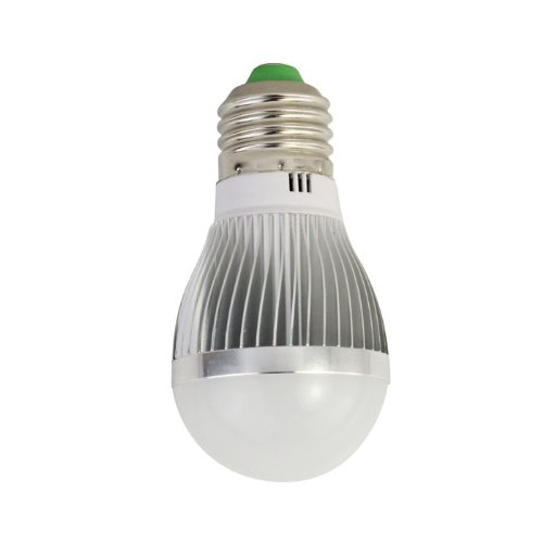 Bluesky Always Bright 85~265V E27 3/5/7W 6/10/14Smd 5730 Led Globe Bulb Light Lamp Warm White/White (White, 3W 6Smd)
