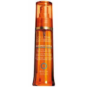 Olio spray capelli protez.colore di Collistar, Olio solare capelli Unisex - Spray 100 ml.