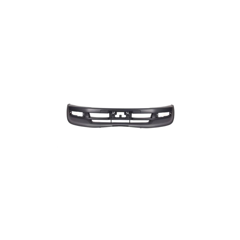 CarPartsDepot 352 441031 10 GY FRONT BUMPER COVER MATTE DARK GRAY PLASTIC FOR TO1000186