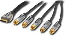 Rocketfish 12' Component Video/Stereo Audio Gaming Cable for Playstation 3 Bulk
