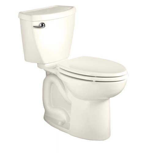 American Standard 270Aa001.222 Cadet 3 Right Height Elongated Two-Piece Toilet With 12-Inch Rough-In, Linen