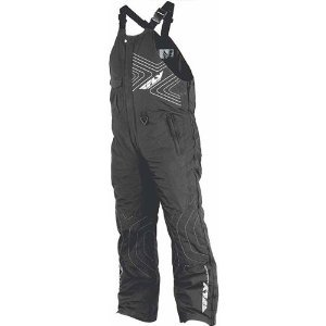 FLY RACING AURORA SNOWBOARD-SNOWMOBILE-SKI Bib Black
