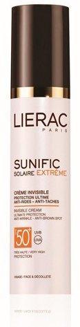 LIERAC Sunific Extême - Crème invisible Visage et décolleté SPF50+ (50 ml)