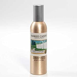 Amazon Com Yankee Candle Clean Cotton Concentrated Room