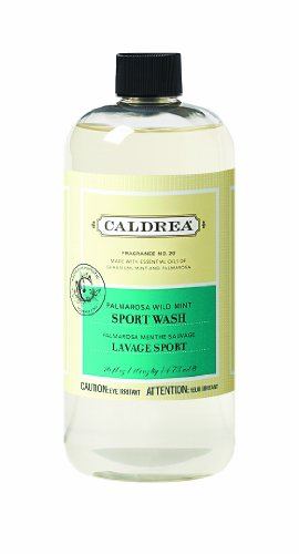 Caldrea Sport Wash, Palmarosa Wild Mint, 16 Fluid Ounce