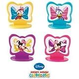Wilton Disney Minnie Mouse Toppers Cupcakes Cakes Decorating Baking Fun 8 Ct