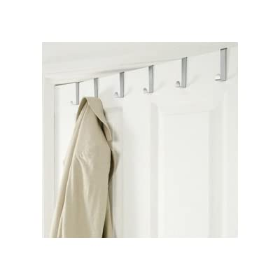 Over The Door Metal Storage Hook Rack, from Betterware