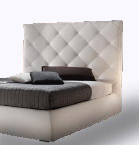 Ponti divani lady testiera letto imbottita con predisposizione per fissaggio al muro made in - Testiera letto a muro ...
