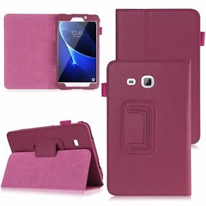 Banggood Cell Phone Flip Case W/ Stand Mount For Samsung Galaxy 7. 0 SM-T280 Rose