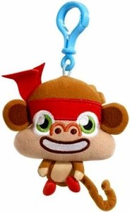 Moshi Monsters Moshlings Backpack Clip Plush Figure Chop Chop With Online Code - 1