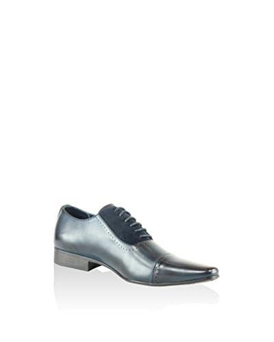 Galax Zapatos de cordones Azul Eléctrico