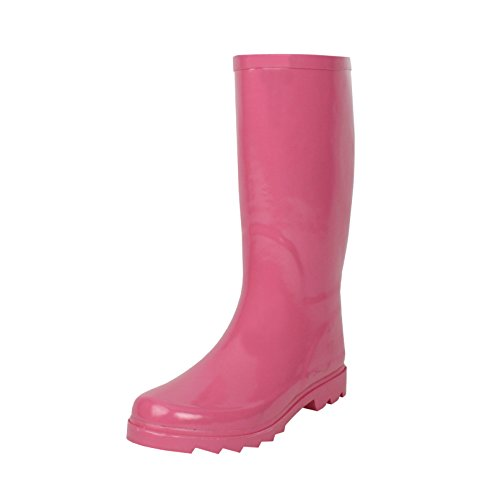 West Blvd Rainboots Rain-Boots, Pink Rubber, 8 (Women Rain Boots Pink compare prices)