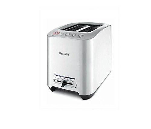 Breville BTA820XL Die-Cast 2-Slice Smart Toaster, 1.2-Inch Wide x 5.2-Inch Deep (Breville Toaster compare prices)