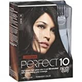 THREE PACKS of Clairol Nice N Easy Perfect 10 Black 2