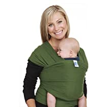Moby Wrap Baby Carrier Leaf