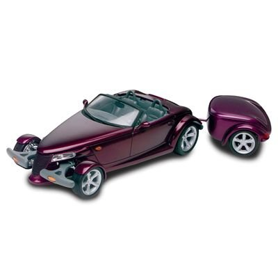 Revell 1:25 Plymouth Prowler With Trailer