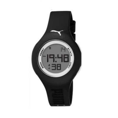 aeb1e8a8d052 PUMA Women's PU910912007 Loop Small Digital Black White Watch. CHEAP ...