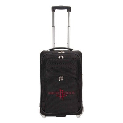 nba-houston-rockets-denco-21-inch-carry-on-luggage-black
