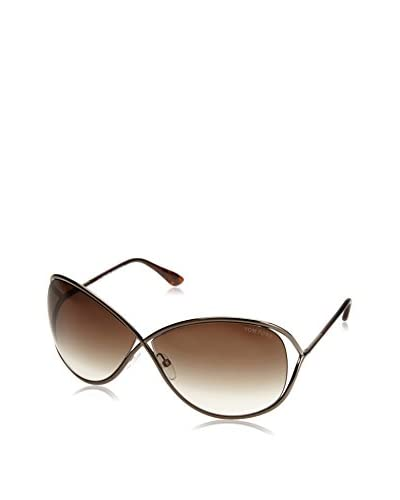 Tom Ford Women's Designer Sunglasses, Shiny Dark Bronze