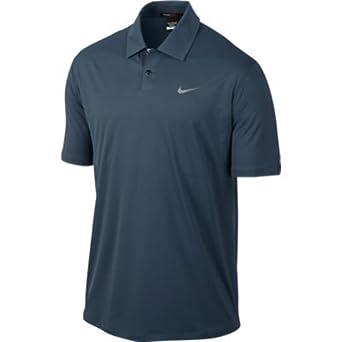 Nike Men's TW Graphic Polo - Medium - Squadron Blue
