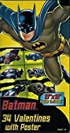 Batman 34 Valentines with Poster