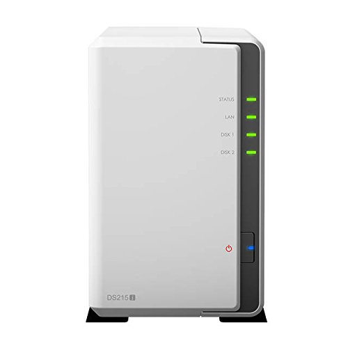 Synology America DiskStation 2-Bay Network Attached Storage (DS215j)