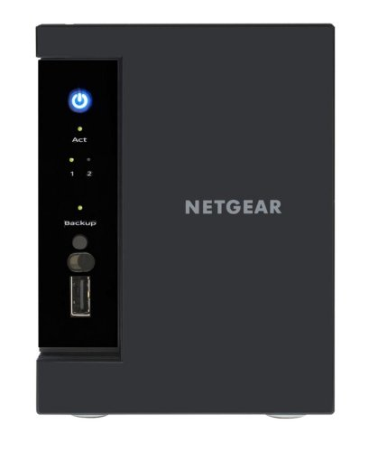Netgear RN31212D-100EUS ReadyNAS 312 NAS-System 2TB (8,9 cm (3,5 Zoll), Intel Atom D270x, 2,1GHz, 2GB RAM, 2-Bay, SATA II, HDMI, 2x USB 3.0)